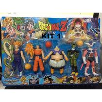 Bonecos Dragon Ball Z 5 Figuras Anime Articulados Manga