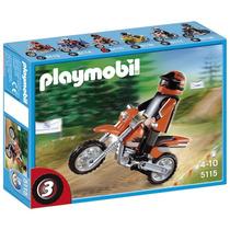 Playmobil 5115 Moto De Motocross Entregas Metepec Toluca