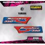 Kit Calcos - Grafica Yamaha Banshee Trompa Maier - Laminados