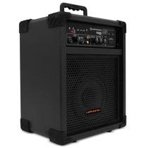 Caixa Som Amplificada P/ Guitarra Controle E Bateria Interna