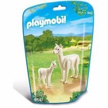 Retromex Playmobil 6647 Alpaca Y Cria Animal Zoologico