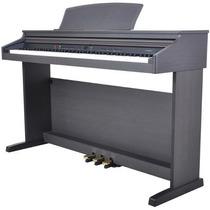 Piano Digital Fenix Tg8852 Stbk 88 Teclas Preto Synth Action