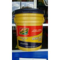 Aceite Motor Diesel Roshfrans Ras Sae 50 Api Cf Cubeta 19 L