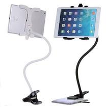 Suporte Universal Flexivel Tablets Ipad Galaxy Gps Envio Ja