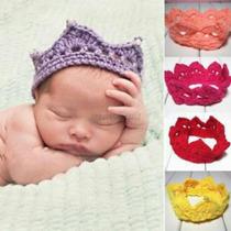 Vinchas Corona Tejidos A Crochet Para Book De Fotos Oferta!!