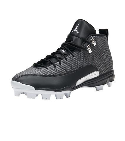 Nike Jordan 12 Xii Retro Tachones Beisbol Negro 9 Mx -   1 7b7e72ca4083b
