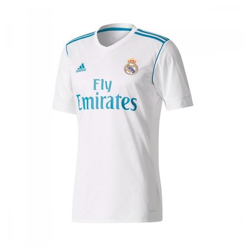 76c1e3f045 Camiseta Real Madrid Titular adidas 2017 18 Original -   1.650