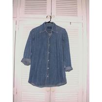 Camisa De Jean Original Zara Talla M