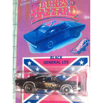 Hot Wheels Dukes De Hazzard General Lee Black Dodge Charger