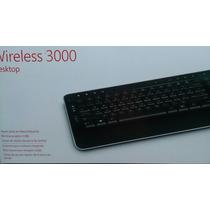 Combo De Teclado Microsoft Y Mouse Inalambrico 3000