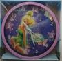 Relógio Parede Infantil Tinker Bell Sininho Fada Disney