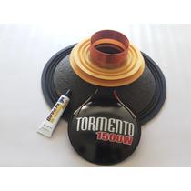 Kit Reparo Falante Tormento 18 1500 Wrms 4 Ohms