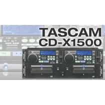 Cd Players Tascam Cd-x1500 Para Mezclador, Consola, Amplific