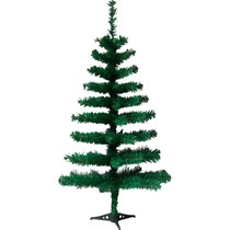 Árvore Natal Pinheiro Canadense 90cm C/ 90 Galhos + 12 Bolas