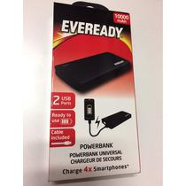 Eveready Batería Externa Universal 10000 Mah