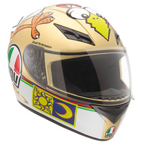 Casco Agv Moto K3 Street Road Chicken Rossi Talla M