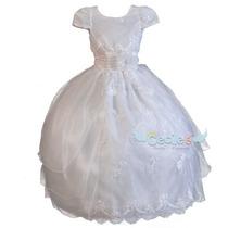 Vestido Primera Comunion Elegante De Lujo Niña Exclusivo 179