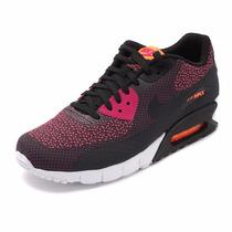 Nike Air Max 90 Jacquad Preto/roxo Oferta Imperdivel