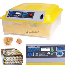 Incubadora Pollos C/ Volteador 48 Huevos Autom. 80w 110 Fds2