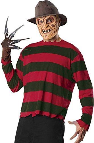Disfraz De Halloween Para Hombre Freddy Krueger Set Por Rubi - Disfraz-de-halloween-para-hombre