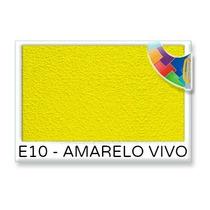 Barrica De Textura Cor Amarelo Vivo 25 Kg