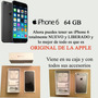 Iphone 6 De Fabrica Original 64gb Nuevo