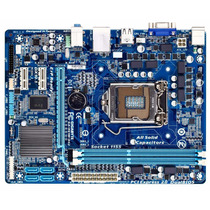 Placa Gigabyte Ga-h61m-ds2 Placa Mae 1155 I3/i5/i7 Ddr3 1333