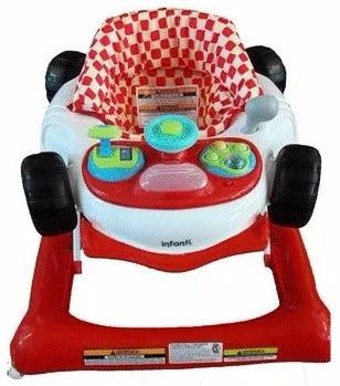 3f2a9afa5 Andador Musical Bebe Infanti Rally Rojo Luces Led Evotech - $ 2.289 ...