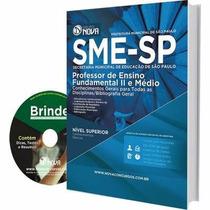 Apostila Professor Fundamental 2 Médio Concurso Sme/sp 2016