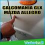 Calcomania Glx Para Mazda Allegro Alta Calidad