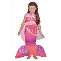 Disfraz Sirenita Nena Barbie Dia Del Niño Original Envios
