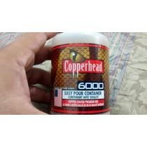 Postas Copperhead 4.5mm .177 Cubierta De Cobre 6mil Pzas Co2