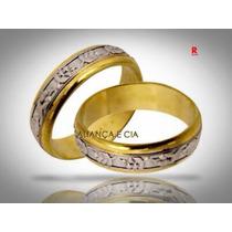 Par Aliança Bodas De Prata E Ouro 18k 25 E 50 Anos Casamento