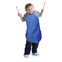 Delantal P/niños Playbox Azul D/preescolar Ropa Escuela 83cm