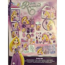 Platos Vasos Fiesta Rapunzel