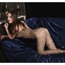 Body Lingerie Erotico Deliciosamente Sexy Estilo Leopardo