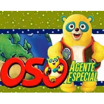 Kit Imprimible Candy Bar Oso Agente Especial Cumples Y Mas