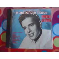 Enrique Guzman Cd 15 Autenticos Exitos 1991