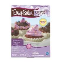 Easy Bake Último Horno Red Velvet Cupcakes Recarga Playset