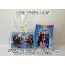 Kit Estojo De Pintura + Revista (lembrancinha Personalizada)