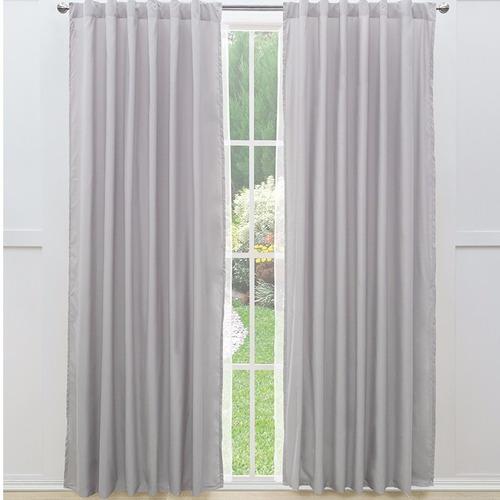 Juego de 2 cortinas viasoft gris vianney envio gratis for Cortinas en tonos grises