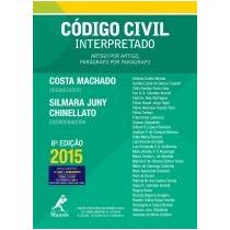 Código Civil Interpretado 8ª Ed. 2015 + Brinde Cpc Costa Mac