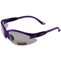 Global Vision De Seguridad Tienda Gafas (purple Frame / Lent
