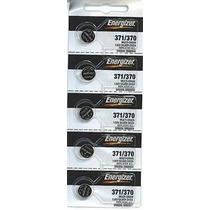 Energizer 371/370 Óxido De Plata Del Reloj De La Batería (5