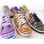 Zapatillas De Diseño Urbanas En Lona De Aguayo Bolivia