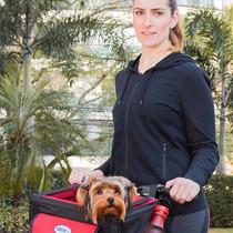 Cadeira Pet Para Bike Transbike Para Cães E Gatos Tubline