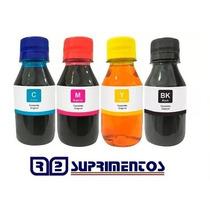 400ml Kit Tinta Recarga Bulk-ink Hp C3180 F4180 F4480 Outras