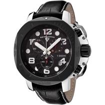 Lindo Relógio Swiss Legend Scubador 10538-01-bb 49mm !