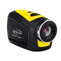 Filmadora Sport Mini Prova Dagua Newlink Fs202 Alta Definiçã
