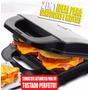 Máquina De Fazer Sanduíches E Waffles Semi Profissional 110v